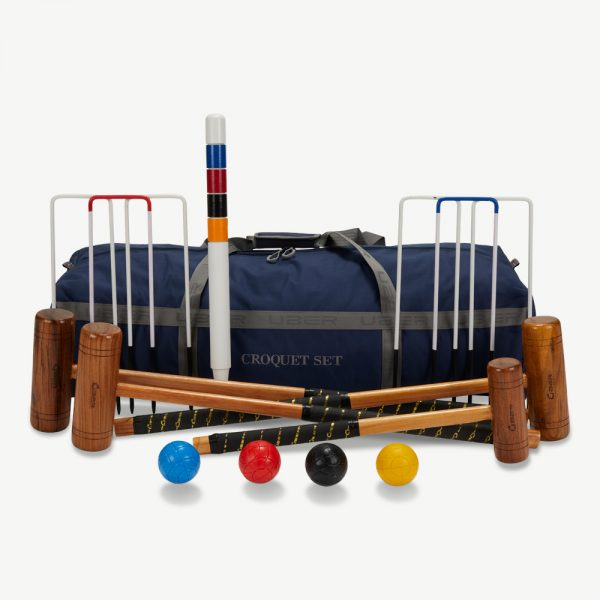 Uber Games 4 Player Family Croquet Set