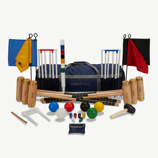 Uber Games 6 Player Executive Croquet Set - Nylon Bag