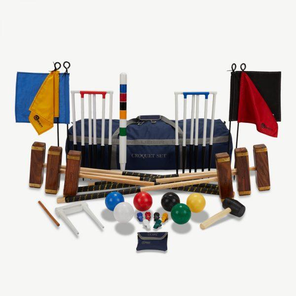Uber Games 6 Player Championship Croquet Set